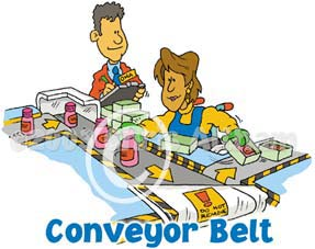 conveyor belt cartoon