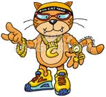 cool cat cartoon