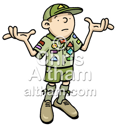 Boy Scout Cartoon