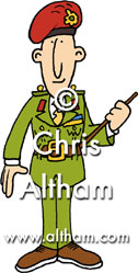 Army Man Cartoon