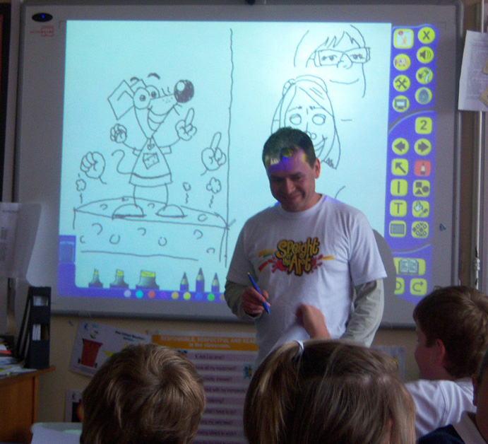Cartoon Workshops by Chris Altham