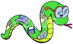 Snake Cartoon 1b