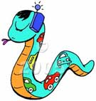 Snake Cartoon 3b