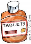 tablets cartoon