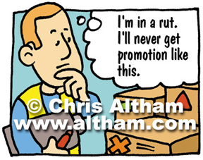 Thoughts for Promotion Cartoon