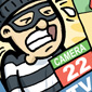 CCTV Crime Prevention Cartoon Picture