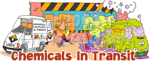 chemicals in transit cartoon